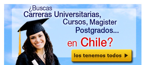 Carreras Universitarias, Cursos, Magister, Postgrados en Chile